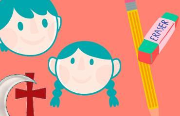 Concurso de dibujos infantil de moros y cristianos